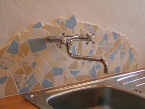 A bathroom at Apartmán na Sedliackom Dvore - Brezno