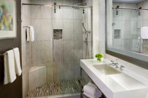 A bathroom at The Kimpton Muse Hotel, an IHG Hotel