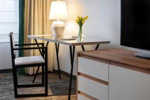 A television and/or entertainment center at Glover Park Hotel Georgetown
