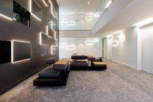A seating area at KPM Hotel & Residences