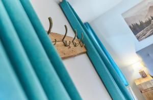Ein Bett oder Betten in einem Zimmer der Unterkunft Apartments Lakeside 29 Zell am See
