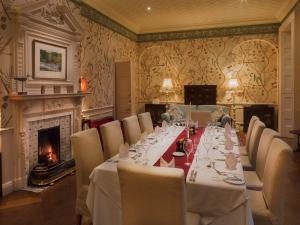 A restaurant or other place to eat at Gliffaes Country House Hotel