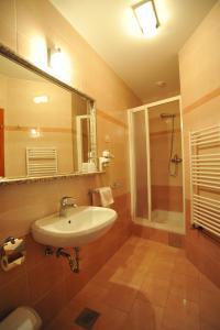 A bathroom at Pansion Maltar Varaždin