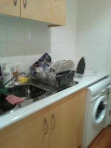 A kitchen or kitchenette at Clarelee Belgrave Accommodation