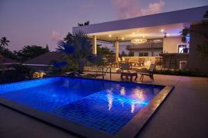 Der Swimmingpool an oder in der Nähe von Baan Sawan Samui Resort