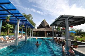 The swimming pool at or near Samui Honey Suite