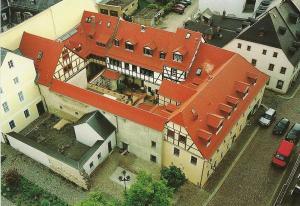 A bird's-eye view of Matsch - Plauens älteste Gastwirtschaft