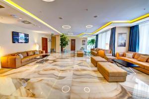 Istumisnurk majutusasutuses Hotel Adria