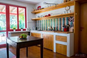 Cucina o angolo cottura di Villa Moni