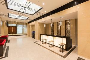 The lobby or reception area at Hotel Dans Le Coeur Osaka Umeda