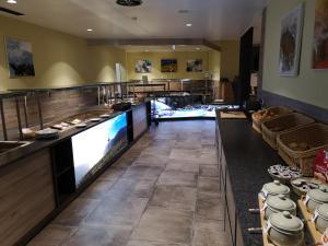 Küche/Küchenzeile in der Unterkunft Hotel Krimml