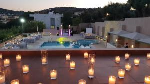 A view of the pool at Erytha Hotel & Resort Chios or nearby
