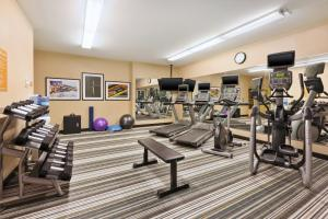 The fitness center and/or fitness facilities at Candlewood Suites Washington North, an IHG Hotel