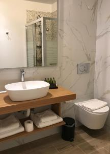 Ένα μπάνιο στο Finday Eco Boutique Hotel