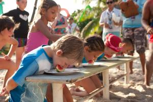 Children staying at Hard Rock Hotel Bali