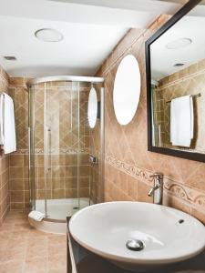 Un baño de El Corzo Mountain Hotel
