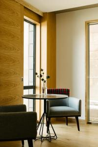 A seating area at Market Street hotel