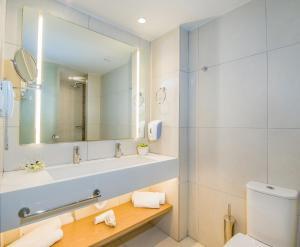 A bathroom at Kiani Beach Resort Family All Inclusive