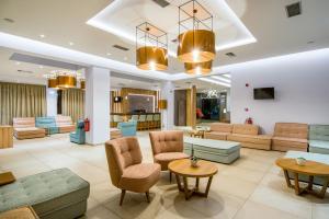 The lobby or reception area at Kiani Beach Resort Family All Inclusive