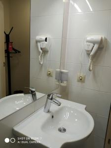 Ванная комната в Мотель Кировские Дачи