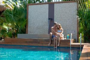 The swimming pool at or near Magic Blue Spa Boutique Hotel Adults Only
