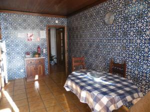 A bed or beds in a room at T3 em Sever do Vouga