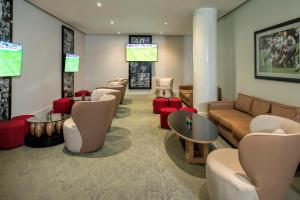 The lounge or bar area at Iberostar Quetzal