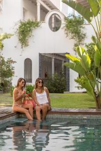 The swimming pool at or near Villa Vicuña Hotel Boutique