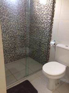 A bathroom at Recanto da Natureza Macaiba