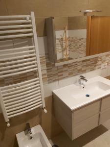 A bathroom at La Casa di Pina