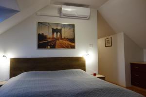 Postelja oz. postelje v sobi nastanitve Apartment Beks