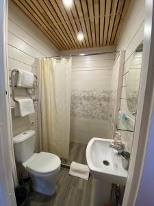 A bathroom at Usadba Demidova