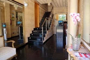 El vestíbulo o zona de recepción de Hotel Las Navas