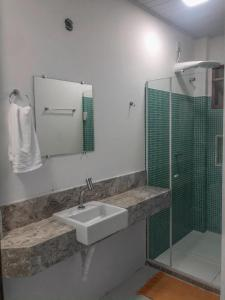 A bathroom at Pousada Hospedaria da Vila