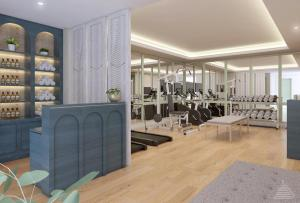 The fitness centre and/or fitness facilities at Jambuluwuk Thamrin Hotel