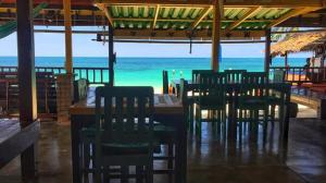 A restaurant or other place to eat at Seaboard Bungalow
