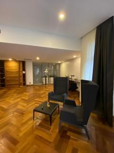 אזור ישיבה ב-Shota @ Rustaveli Boutique Hotel