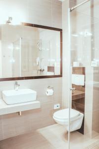 Łazienka w obiekcie Cumulus Hotel