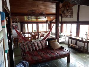Uma área de estar em Casa das Ilhas