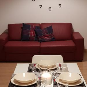 A seating area at Sweet Home