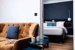 Cama o camas de una habitación en Best Western Plus Maison 46