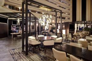 A restaurant or other place to eat at Embassy Suites Montgomery - Hotel & Conference Center