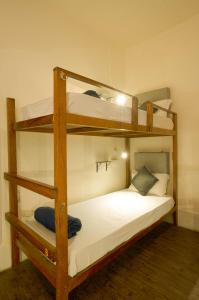 A bunk bed or bunk beds in a room at Locomo Hostel