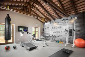 The fitness center and/or fitness facilities at Meneghetti Wine Hotel and Winery - Relais & Chateaux