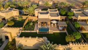 A bird's-eye view of Anantara Qasr al Sarab Desert Resort