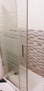 A bathroom at Hotel Mediante