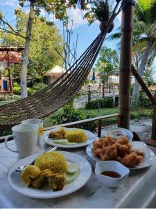 Morgenmad for gæster der bor på Mook Montra Resort Sea Front