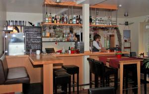The lounge or bar area at Restaurant Fischbeck´s