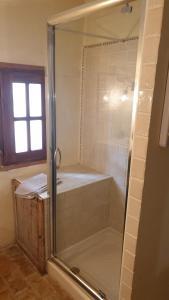 Koupelna v ubytování la bastide de l'adrech