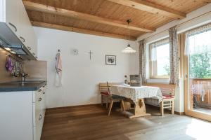 Una cocina o zona de cocina en Gasleidhof